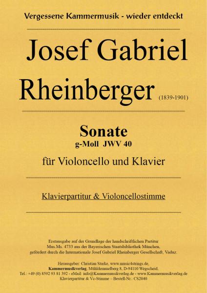 Rheinberger, Josef Gabriel – Sonate g-Moll (JWV 40)