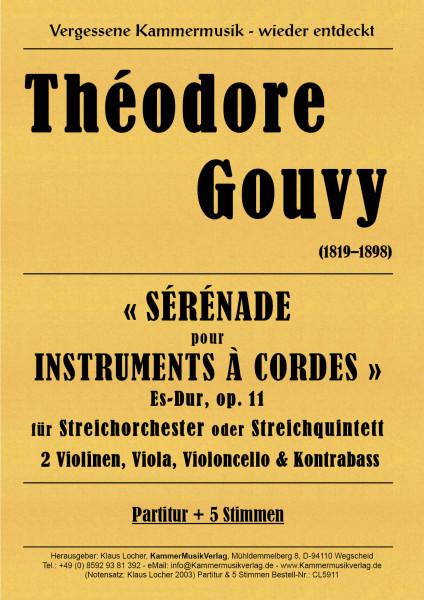 Gouvy, Louis Théodore – Serenade für Streicher