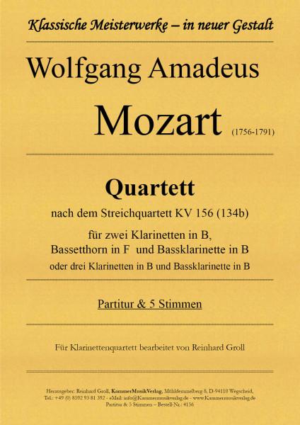 Mozart, Wolfgang Amadeus – Quartett