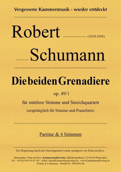 Schumann, Robert – Die beiden Grenadiere op. 49/1